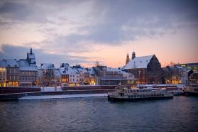 Maastricht  im Winter
