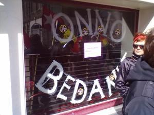 Onno Bedankt - das geschlossene Café to the Point - Photo: Antonio Peri