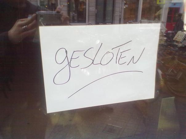 gilt nun leider für alle Coffeeshops in Maastricht - Foto: Antonio Peri
