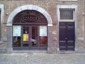 Die Tür ist zu - Coffeeshop Kosbor gestern gegen 20 Uhr - Photo: Antonio Peri